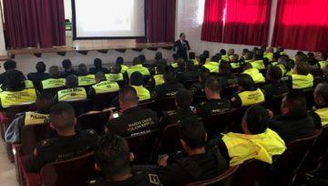 CONFERENCIA SOBRE DETECCIÓN DE MENTIRAS PARA POLICÍA ESTATAL EN EL ESTADO DE MÉXICO